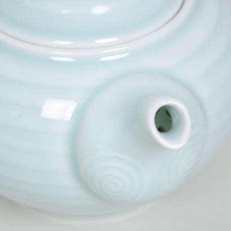 安達窯 環柄-茶壺