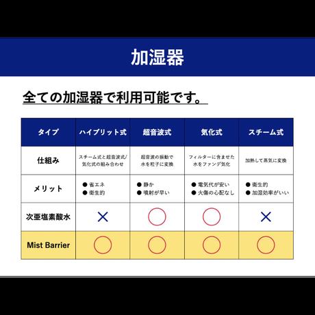 Mist Barrier オーガニック空間除菌剤  12本 まとめ買いセット