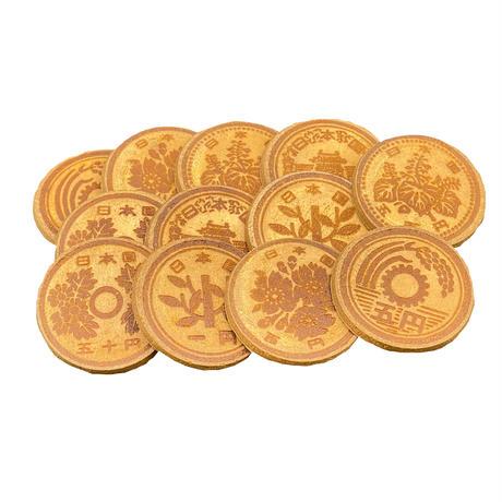 コイン焼き印【造幣せんべい】紙箱12枚入り(2枚包×6)