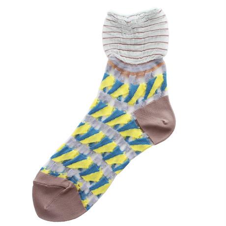Butterfly socks/イエロー