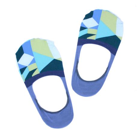Rangiri socks メンズ / ブルー