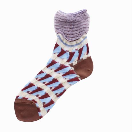 Butterfly socks/ブルー