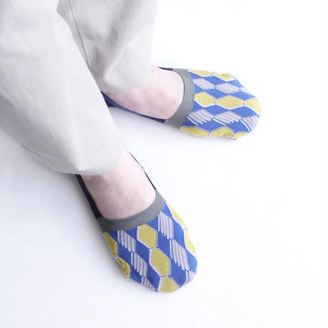 Honeycomb foot cover/ブラウン