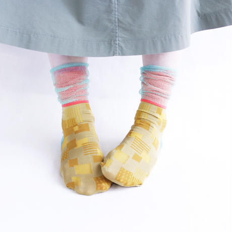 Sunlight block socks/ベージュ