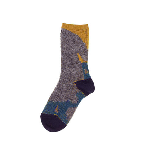 rabbit relax socks/グレー