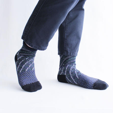 Land layer socks  /  グレー(CT-19SS-1-A1/GY)