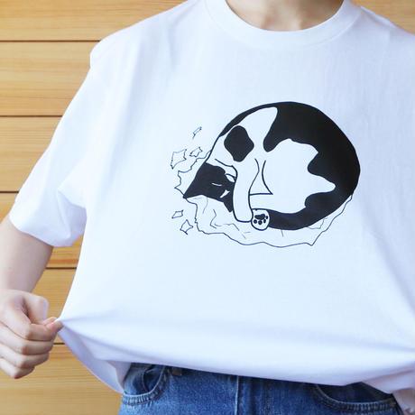 丸まってるレッツ Tシャツ