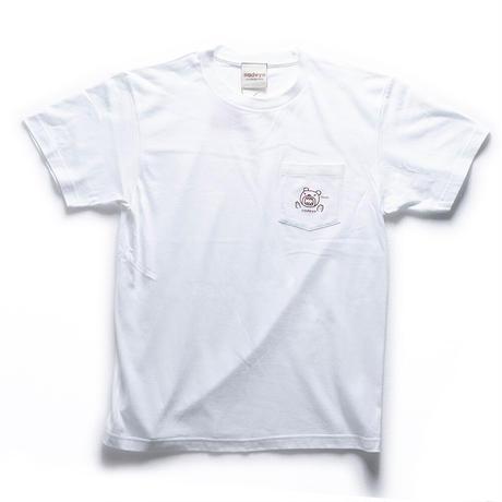 ポケットクマ Tシャツ