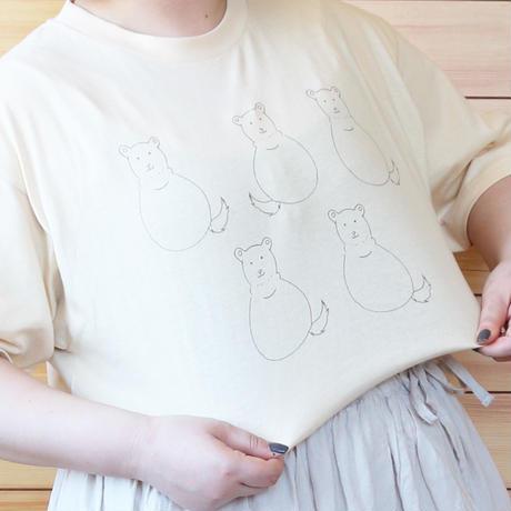 だるまくま Tシャツ