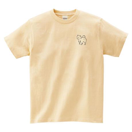 見てんじゃねーよ柴犬 Tシャツ