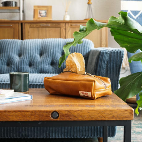 LEATHER BOX CASE / ACME furniture