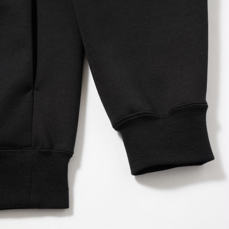 LOOSE FIT PULLOVER SWEAT BLACK