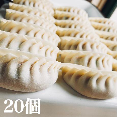 愛農ナチュラルポーク肉餃子(冷凍)無添加 ニンニク不使用 20個入り  2月5日(金)〜2月7日(日)発送分 送料着払い