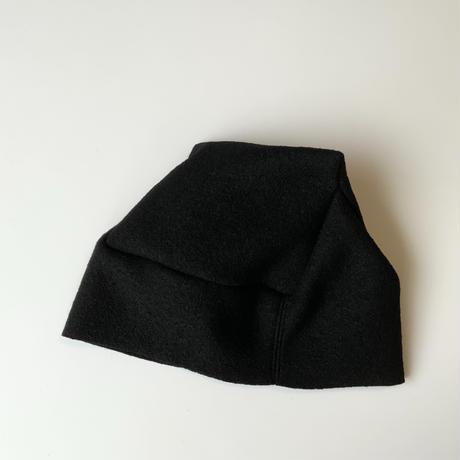 おうち帽    ブラック    Lサイズ
