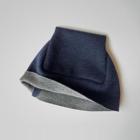 おうち帽    ブルー   Sサイズ