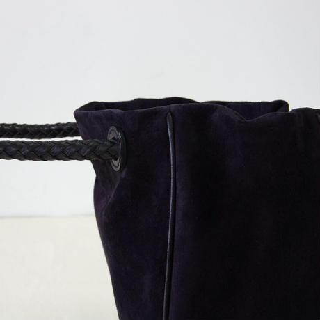 PIGスエード・巾着バッグ-Lサイズ(PSKT-L)