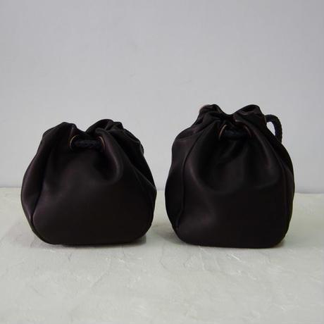 巾着バッグ-Lサイズ・ブラック(DKT-L-BK)