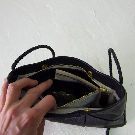 パッチワークお財布ポシェット + さいふポケット (GOBPWP(PU))
