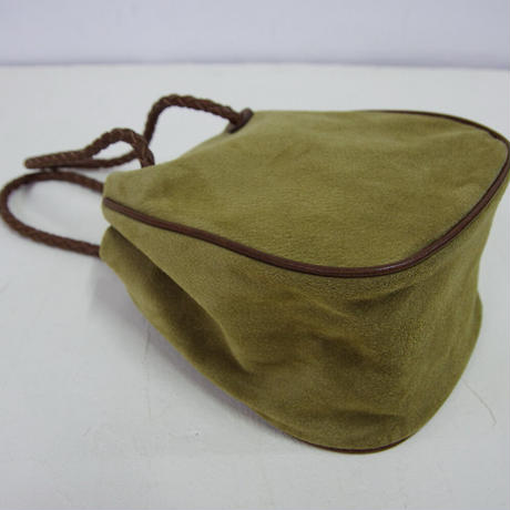 PIGスエード・巾着バッグ-MSサイズ(PSKT-MS)
