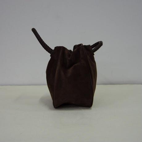 PIGスエード・巾着バッグ-LSサイズ(PSKT-LS)