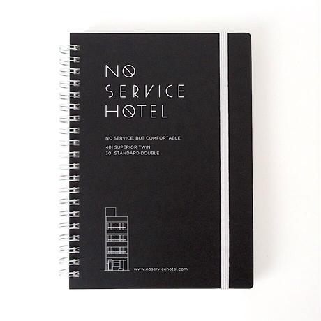 ダブルリングノート(ブラック)/ Double Ring Notebook (black)