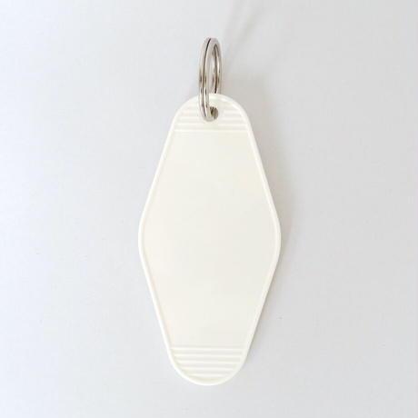 キータグ (ホワイト)/ Key Tag (white)