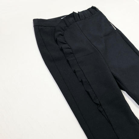 fril high weist pants