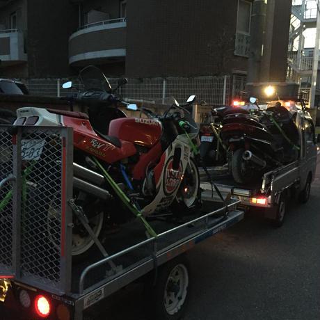 格安バイク輸送