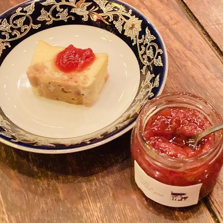 【プチギフト向け】苺のパウンドケーキ・しっとりニューヨークチーズケーキ・自家製いちごのコンポート・コーヒーのセット