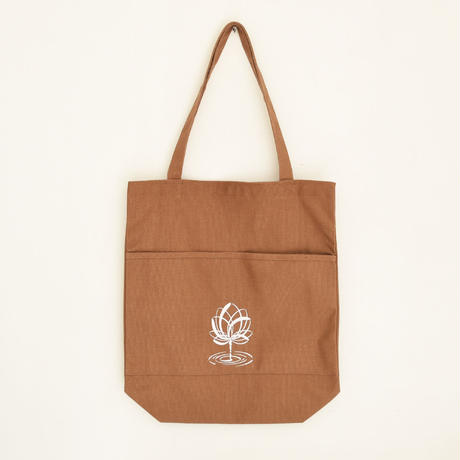 WOODBRAIN / open/close Tote BR