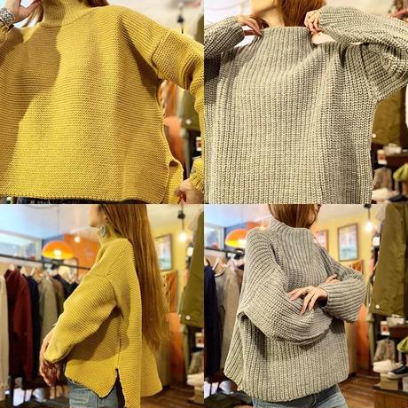 """KELLY WOOLLEN MILLS""Polo Neck Sweater"