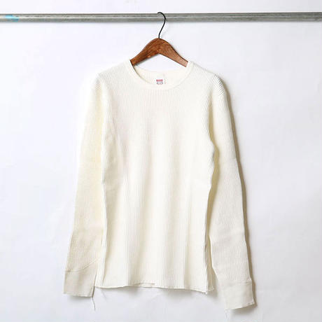 """BARNS outfitters""THERMAL LONG SLEEVE CREW NECK TEE"