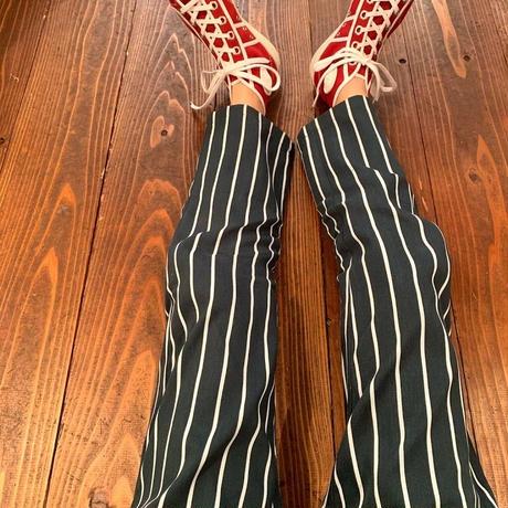 """COOKMAN""Chef Pants[Pin.Stripe/D.Green]150.110"