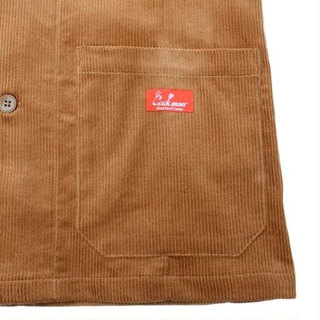 """COOKMAN""Lab Jacket[Corduroy.Brown]"