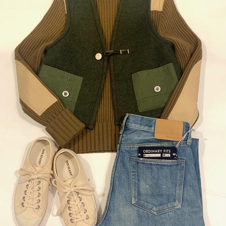 """ORIGINAL ITEM""SWD Military Blanket Remake Vest"