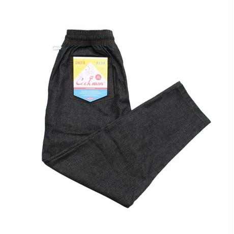 """COOK MAN"" Chef Pants[Denim.Black]"