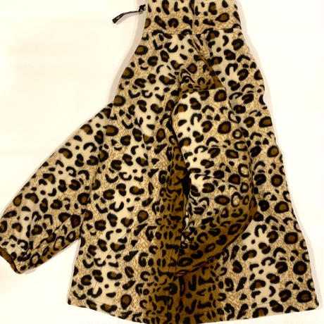"""SPRING MOUNTAIN"" Leopard Fleece Zip Jacket"
