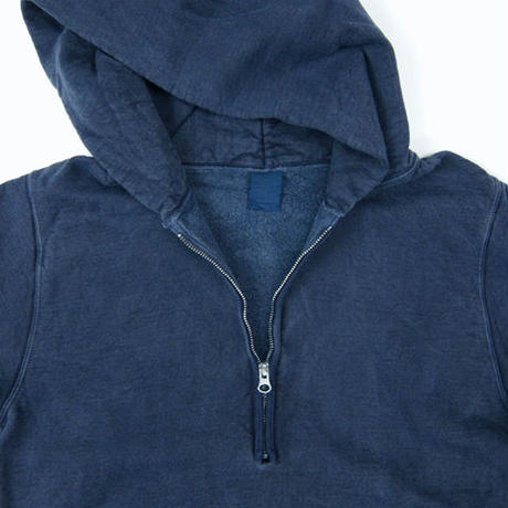 """GOOD ON""ROUGH 1/2 ZIP PULLOVER HOOD SWEAT"