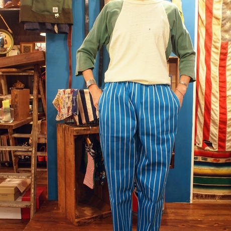 """COOKMAN"" Chef Pants[Pin Stripe/Blue]"