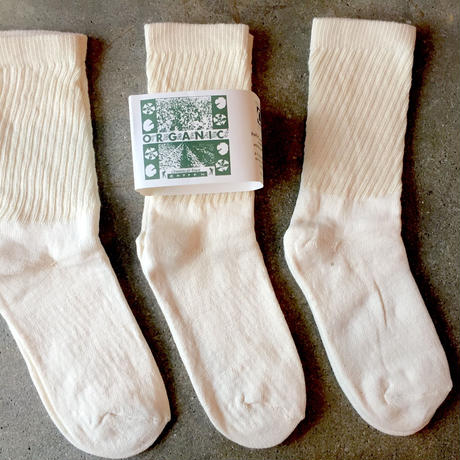 再入荷!! 「ORGANIC THREADS」3P Socks(Regular type)
