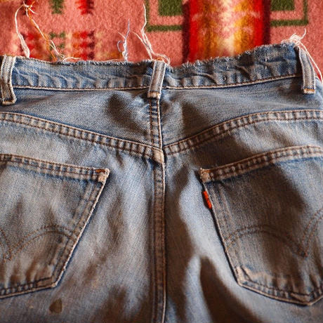 "1970's LEVI'S 646 Cut Off  BIG""E""(アメリカ買付)"