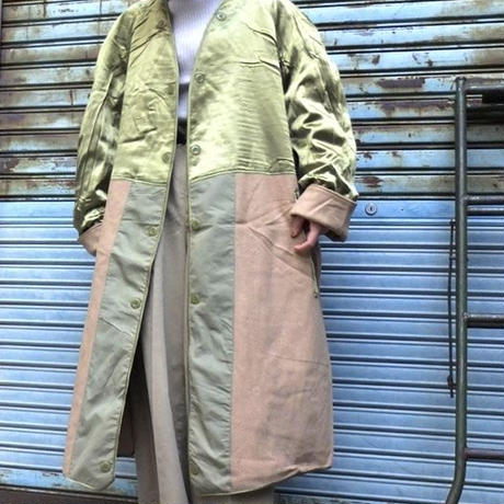 "DEAD STOCK""60's FRENCH ARMY"" Wool Liner Coat"