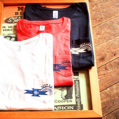 """""""MITAKUYE"""" Shop  Logo S/S Pocket T-Shirs"""