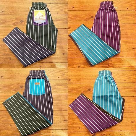 """COOKMAN"" Chef Pants[Crazy Stripes Cold]"