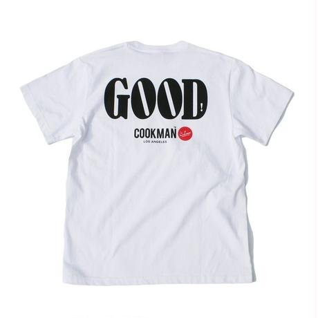 """COOKMAN""T-shirts 「GOOD」"