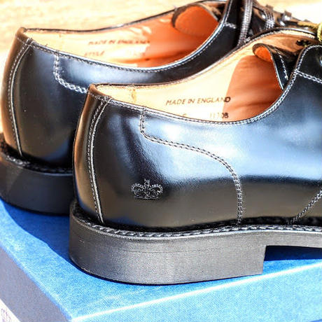 """SANDERS"" Military Apron Derby Shoes"