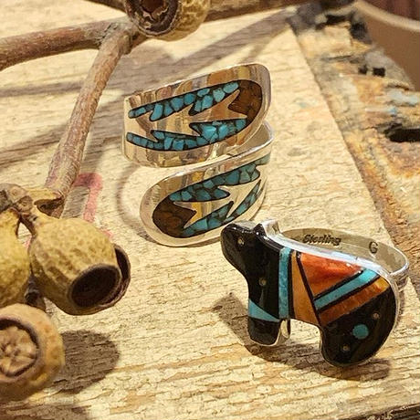 """ZUNI"" Inlay Ring"