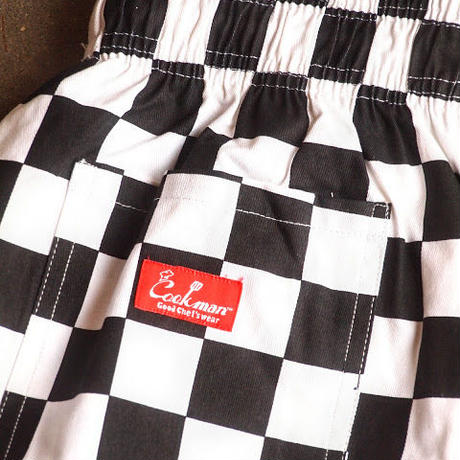 "再入荷!""COOKMAN""Chef Pants 「Checker」"