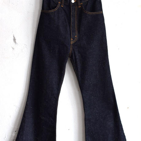 """RUMBLE RED""Bell Bottom Denim Pants"