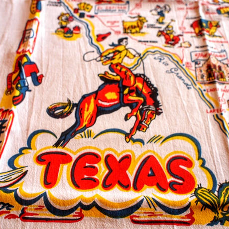 """RED AND WHITE KITCHEN COMPANY"" Kitchen Towel(TEXAS)"